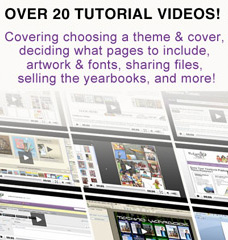 Over 20 Yearbook Tutorial Videos